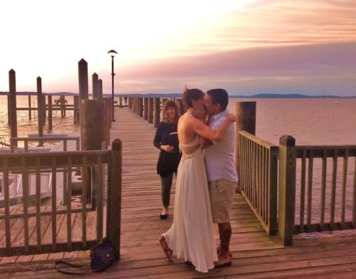 sunrise wedding Havre de Grace